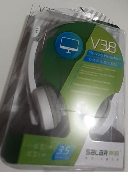 Picture of Headphone with Mic (Salar V38)